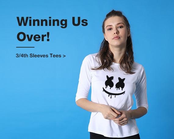 Buy long sleeve T Shirts for Women