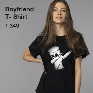 Women Boyfriend T Shirts
