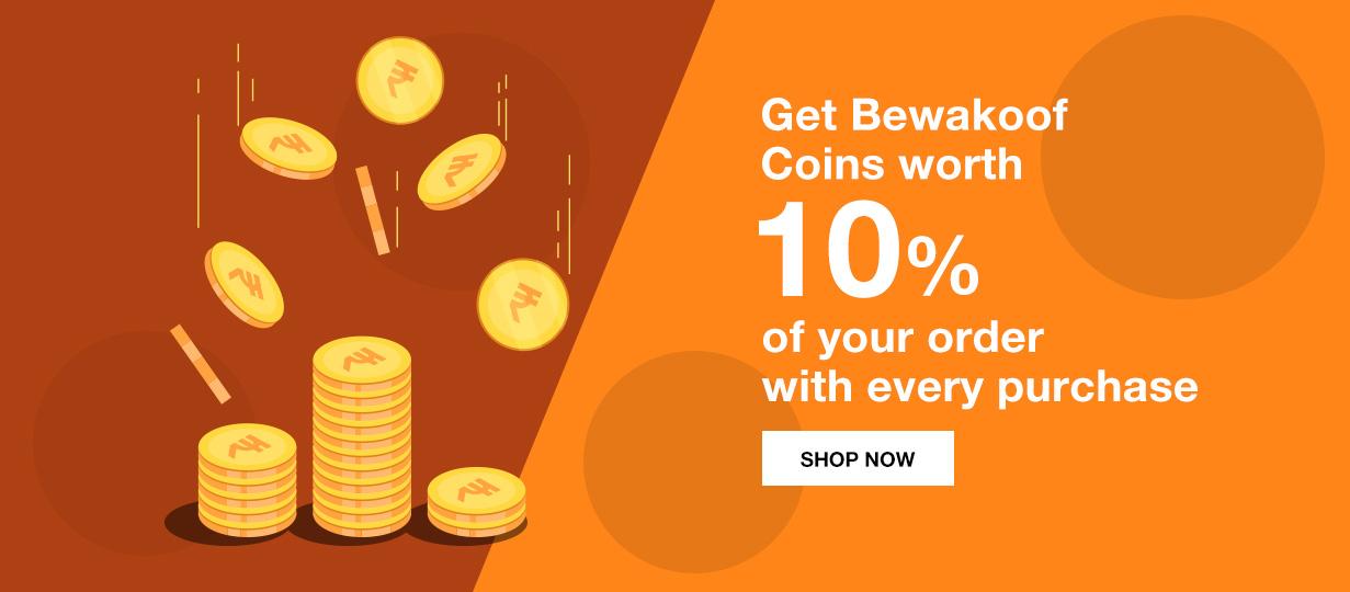 Bewakoof 15% Cash Back | Bewakoof.com