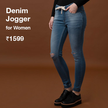Buy Ripped Joggers for Women - Bewakoof.com