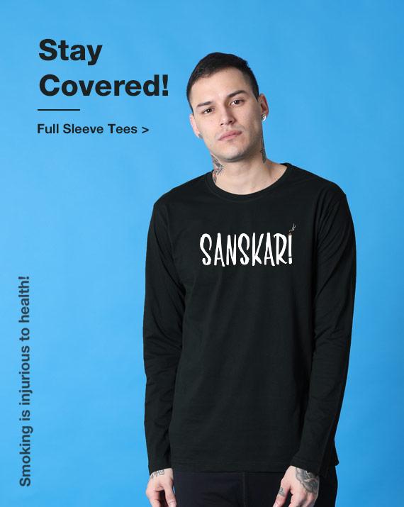 Buy Men's Full Sleeve T Shirts