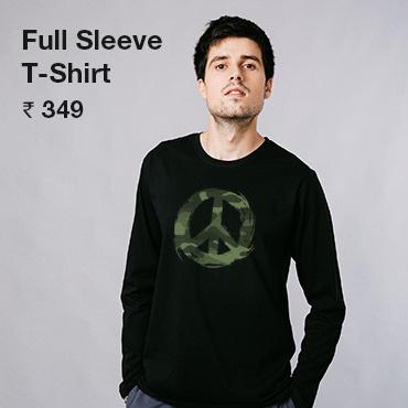 Buy Men's T-Shirt Online India - Bewakoof.com