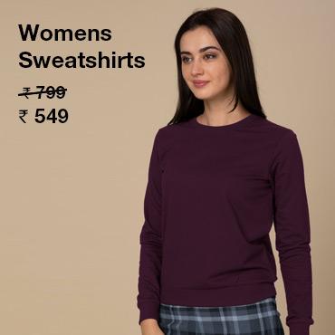 Buy Sweatshirt for Women Online India - Bewakoof.com