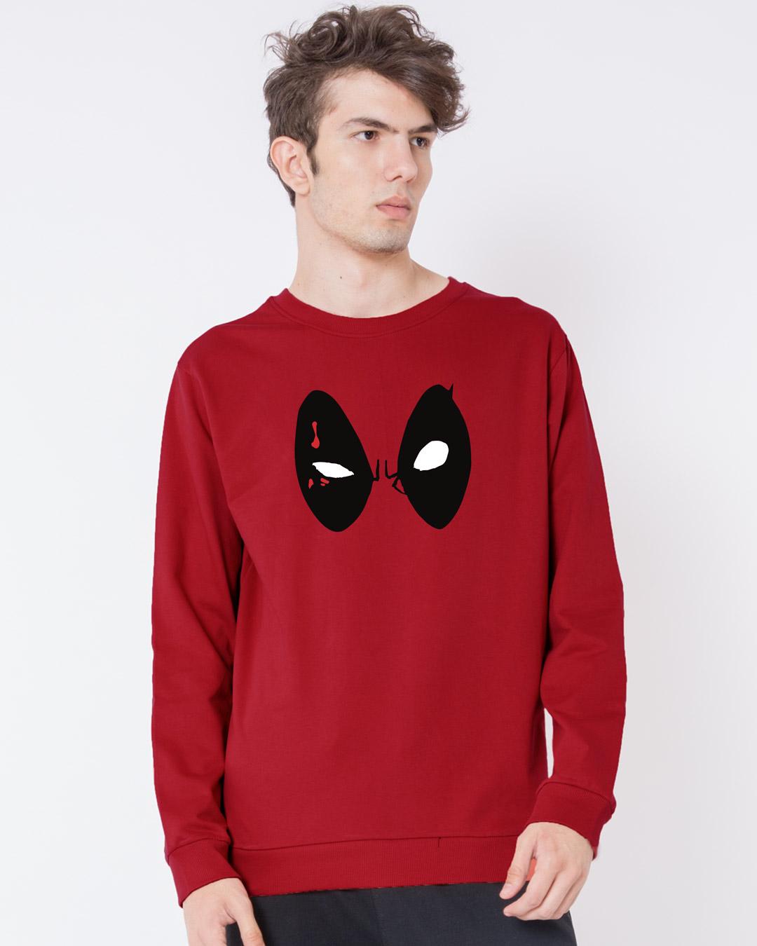 Deadpool Eyes Sweatshirt