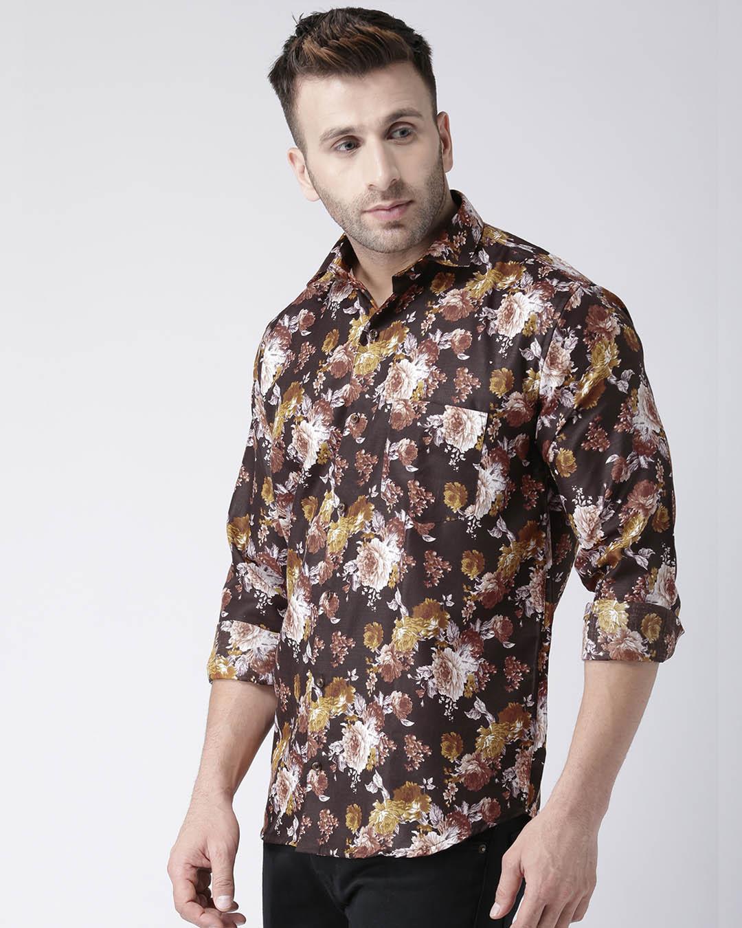ShopPrinted Casual Daily Wear Shirt-Back