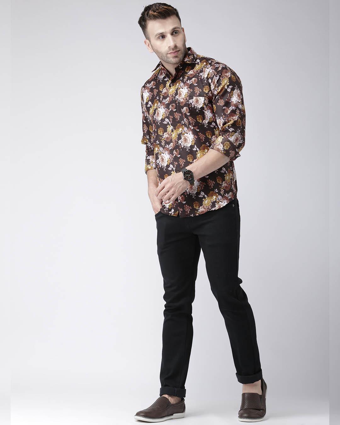 ShopPrinted Casual Daily Wear Shirt-Full