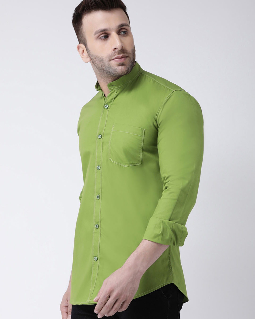 ShopSolid Casual Shirt-Back
