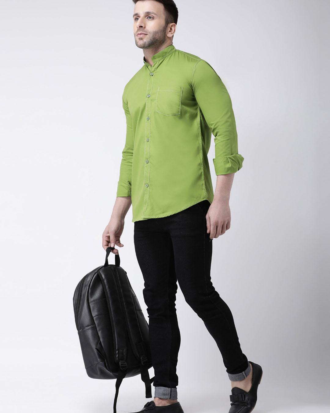 ShopSolid Casual Shirt-Full