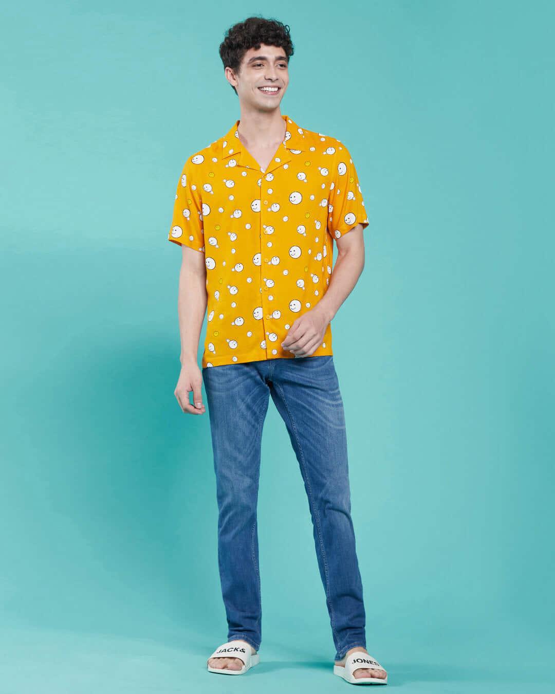 ShopPopcorn Yellow Shirt