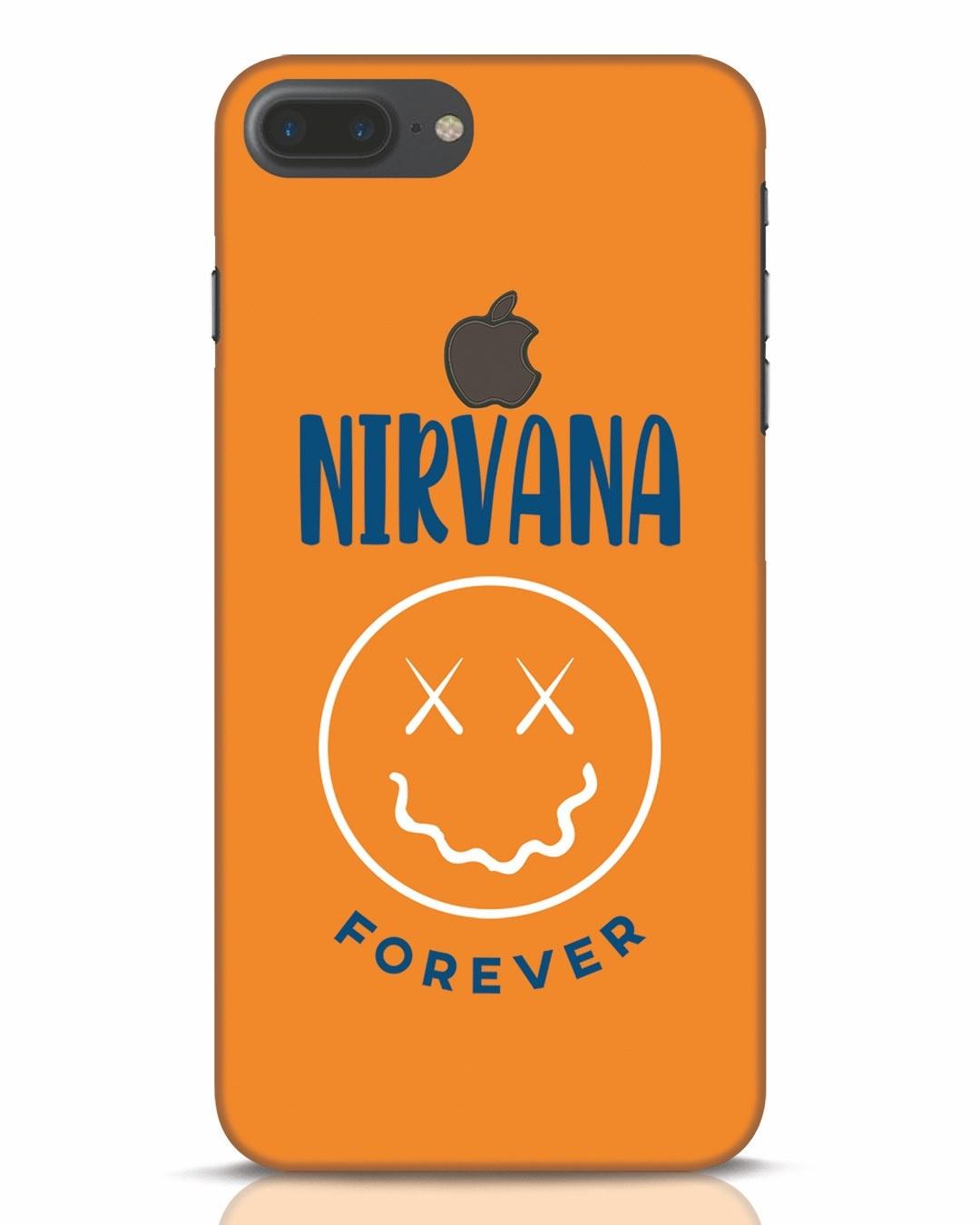 Buy Nirvana iPhone 7 Plus Logo Cut Mobile Case Online at ...