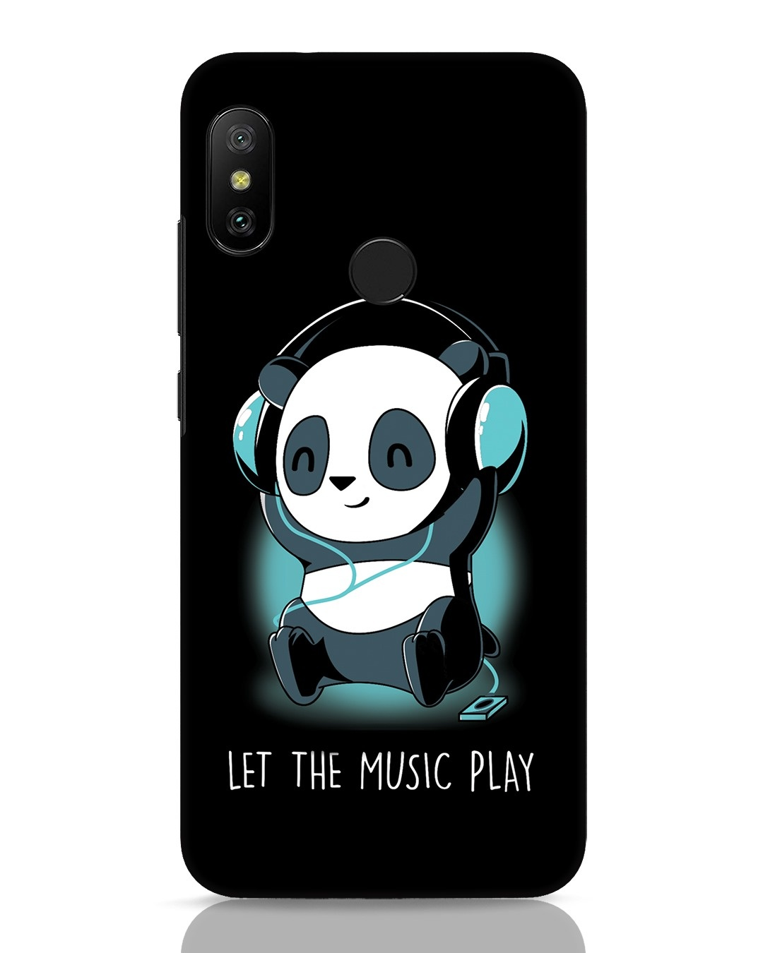 Buy Panda Headphones Xiaomi Redmi 6 Pro Mobile Case Online