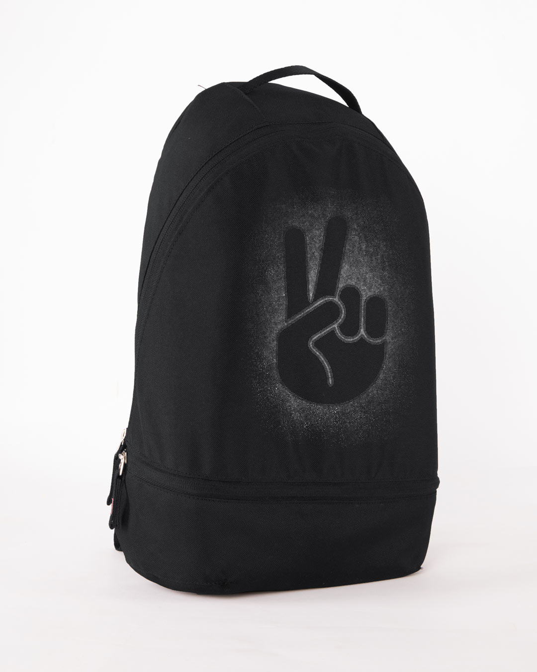 27b80b3a33 Buy Peace Out Shadow Printed Bags Online India   Bewakoof.com