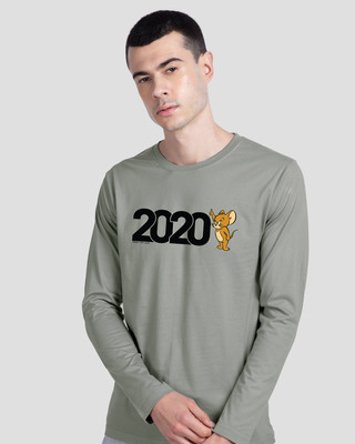 Shop 2020 Jerry Full Sleeve T-Shirt (TJL) Meteor Grey-Front