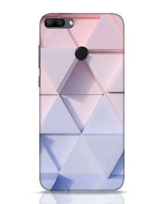 Shop 3d Prisma Huawei Honor 9N Mobile Cover-Front