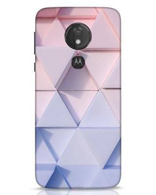 Shop 3d Prisma Moto G7 Power Mobile Cover-Front