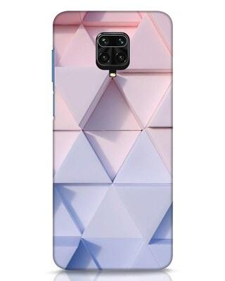 Shop 3d Prisma Xiaomi Redmi Note 9 Pro Mobile Cover-Front
