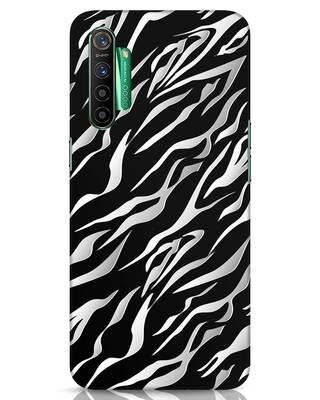 Shop 3d Zebra Print Realme X2 Mobile Cover-Front