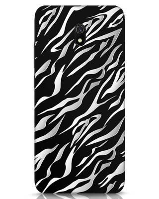 Shop 3d Zebra Print Xiaomi Redmi 8A Mobile Cover-Front