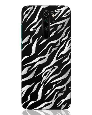 Shop 3d Zebra Print Xiaomi Redmi Note 8 Pro Mobile Cover-Front
