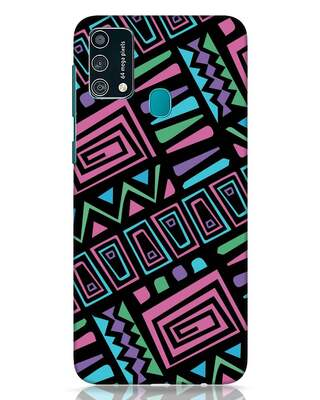 Shop 90s Wall Art Colorful Samsung Galaxy F41 Mobile Cover-Front