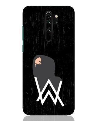 Shop A W Pose Xiaomi Redmi Note 8 Pro Mobile Cover-Front