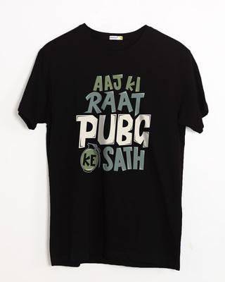 Shop Aaj Ki Raat Half Sleeve T-Shirt-Front