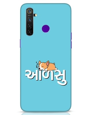 Shop Aalsu Realme 5 Pro Mobile Cover-Front