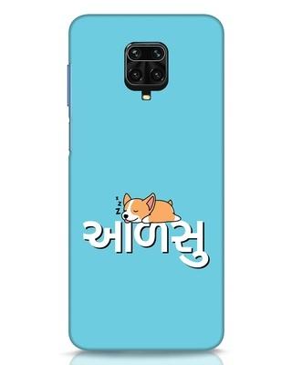 Shop Aalsu Xiaomi Redmi Note 9 Pro Mobile Cover-Front