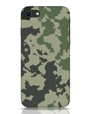 Shop Abstract Camo iPhone SE 2020 Mobile Cover-Front