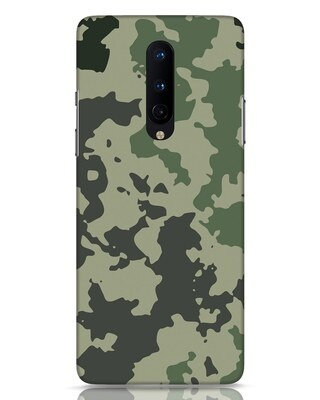 Shop Abstract Camo OnePlus 8 Mobile Cover-Front