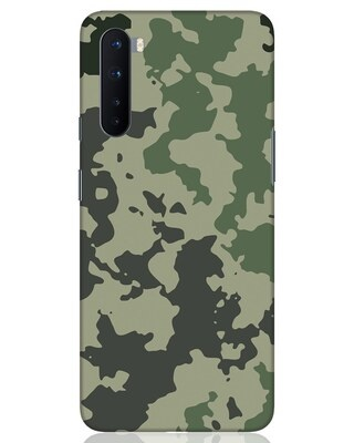 Shop Abstract Camo OnePlus Nord Mobile Cover-Front