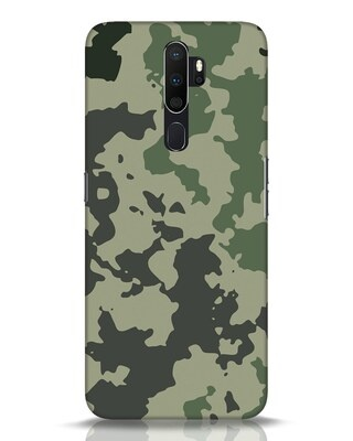 Shop Abstract Camo Oppo A5 2020 Mobile Cover-Front