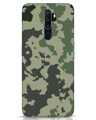 Shop Abstract Camo Oppo A9 2020 Mobile Cover-Front