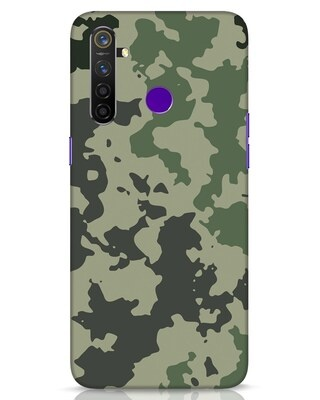 Shop Abstract Camo Realme 5 Pro Mobile Cover-Front