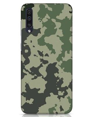 Shop Abstract Camo Samsung Galaxy A50 Mobile Cover-Front