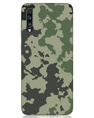Shop Abstract Camo Samsung Galaxy A70 Mobile Cover-Front