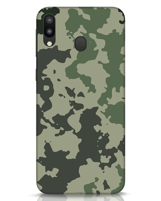 Shop Abstract Camo Samsung Galaxy M20 Mobile Cover-Front