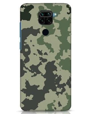 Shop Abstract Camo Xiaomi Redmi Note 9 Mobile Cover-Front