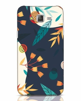 Shop Abstract Floral Samsung Galaxy J7 Mobile Cover-Front