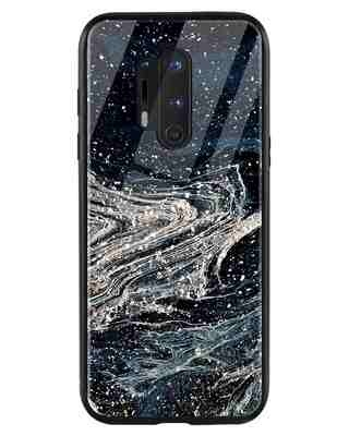 Shop Abstract Glitter OnePlus 8 Pro Mobile Cover-Front