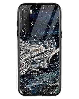 Shop Abstract Glitter OnePlus Nord Mobile Cover-Front