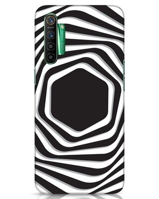 Shop Abstract Line Realme X2 Mobile Cover-Front