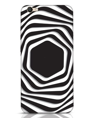 Shop Abstract Line Vivo V5 Mobile Cover-Front