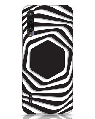 Shop Abstract Line Xiaomi Mi A3 Mobile Cover-Front