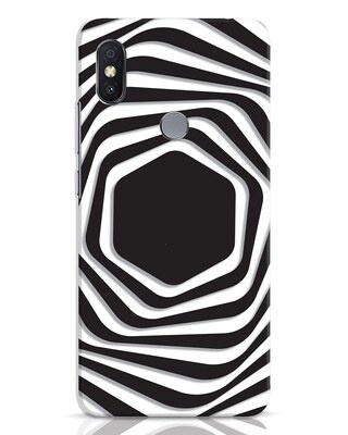 Shop Abstract Line Xiaomi Redmi Y2 Mobile Cover-Front