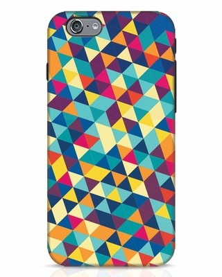 Shop Abstract Triangles iPhone 6s Mobile Cover-Front