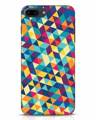 Shop Abstract Triangles iPhone 7 Plus Mobile Cover-Front
