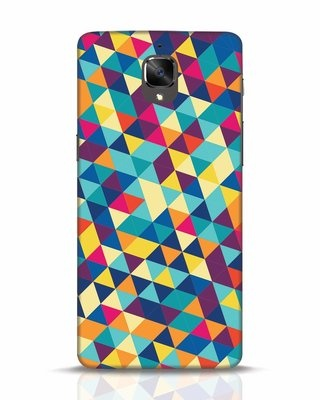 Shop Abstract Triangles OnePlus 3T Mobile Cover-Front