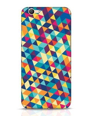 Shop Abstract Triangles Oppo F1s Mobile Cover-Front
