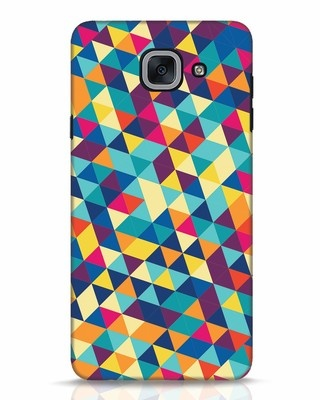 Shop Abstract Triangles Samsung Galaxy J7 Max Mobile Cover-Front